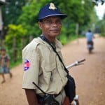 The law (rural).Stung Treng Province, Cambodia