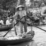Phong Dien floating market.Can Tho Province, Vietnam